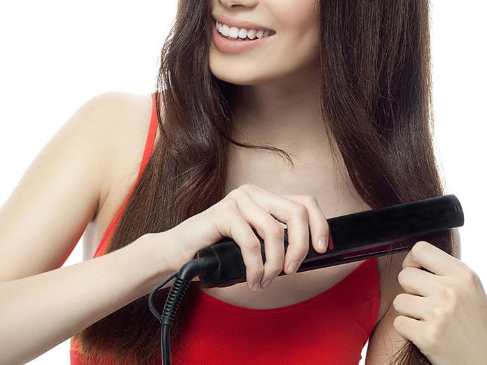 How to straighten your hair?