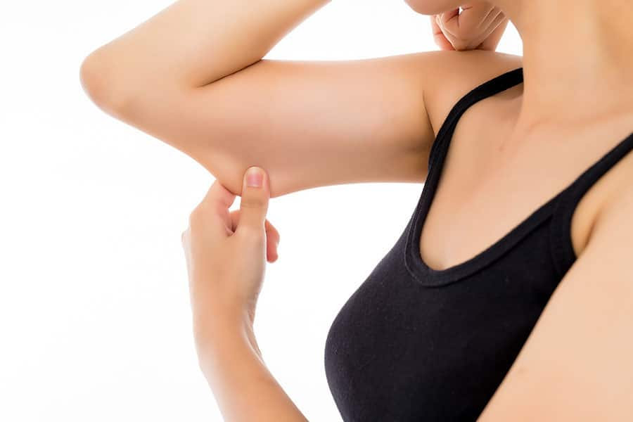 How to tighten your arms?