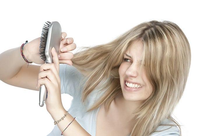 Какво да правим при заплитаща се коса