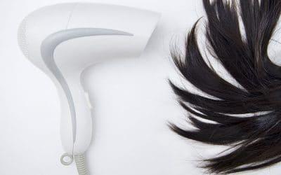 Как да сушим косата