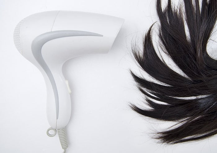 How to dry your hair?