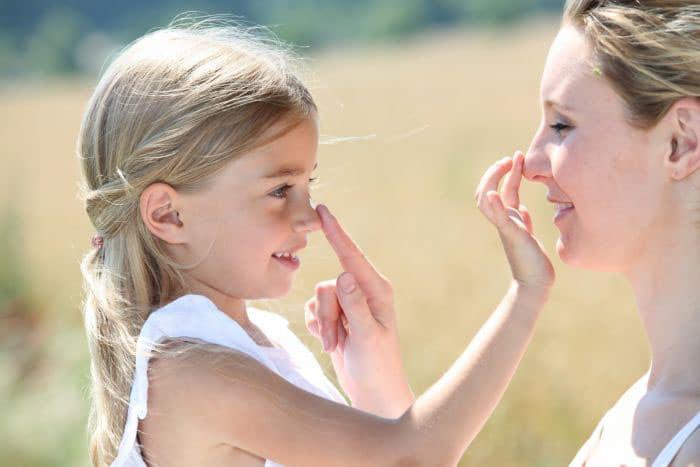 UVA и UVB лъчите и детската кожа
